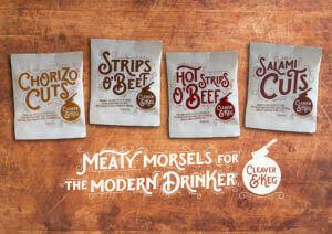 Cleaver and Keg Meaty Beer snacks