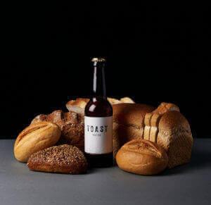 Toast charity bread beer