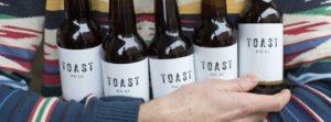 Toast Charity Beer