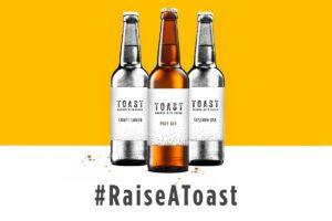 Toast – the charity beer made with bread are crowdfunding