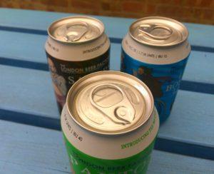 London Beer Factory 360 lids