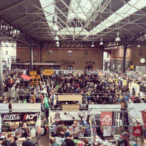 Spitalfields brewers market