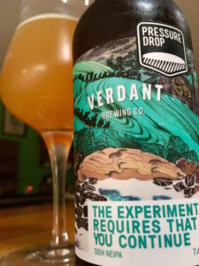 Craft Beer of the Month – The Experiment Requires That You Continue by Pressure Drop / Verdant