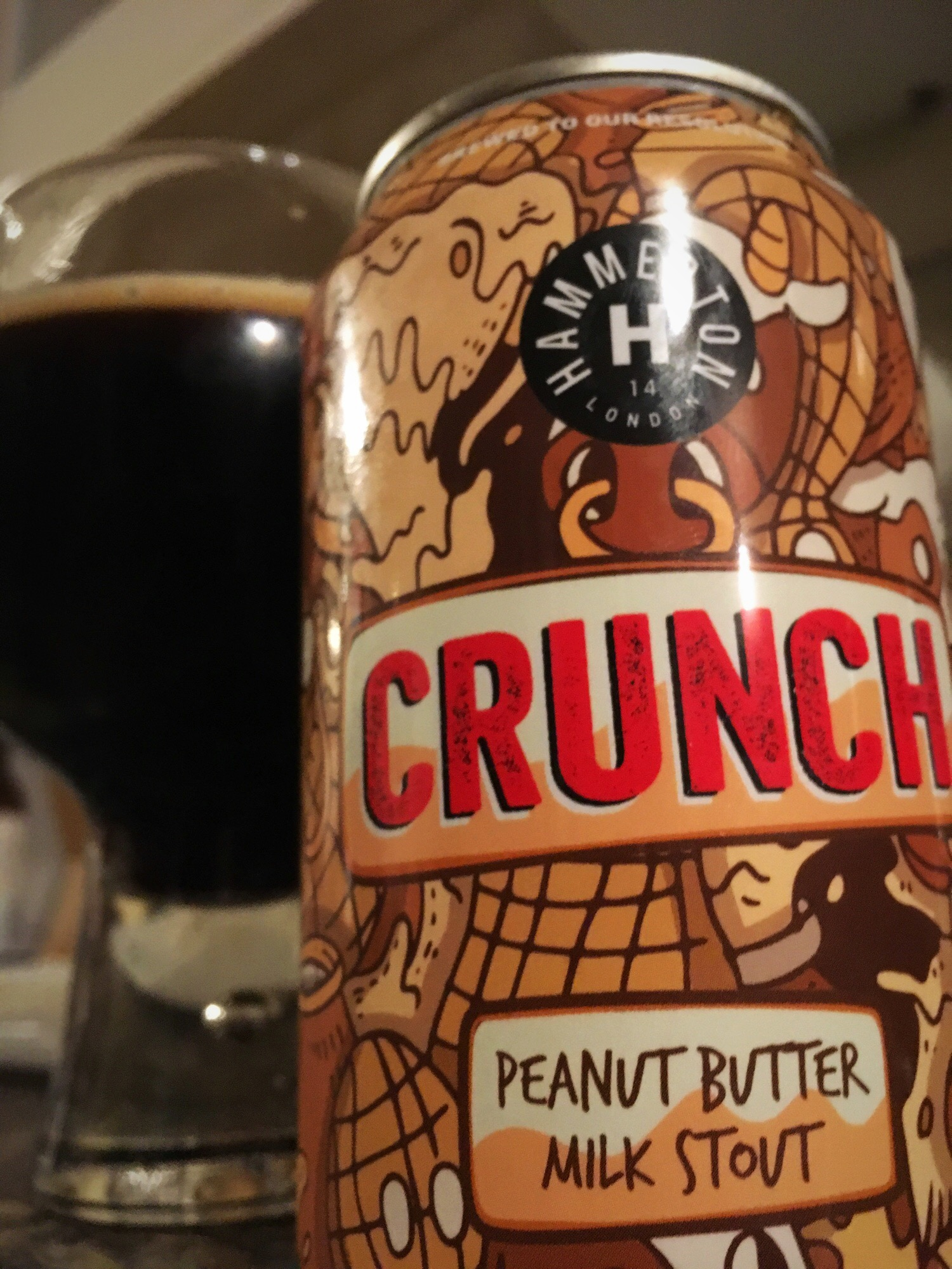 Craft Beer of the Month – July 2018 – Hammerton Crunch
