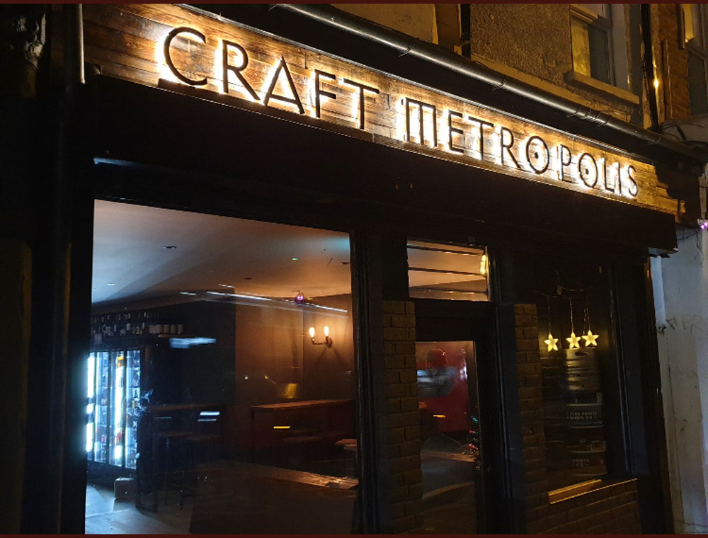 The Craft Metropolis Taproom