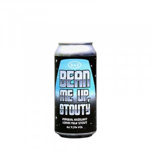 S43 – Bean Me Up Stouty Imperial Hazelnut Coffee Milk Stout