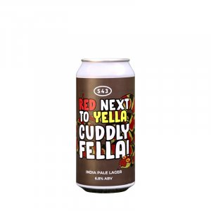 S43 – Red Next To Yella, Cuddly Fella! India Pale Lager