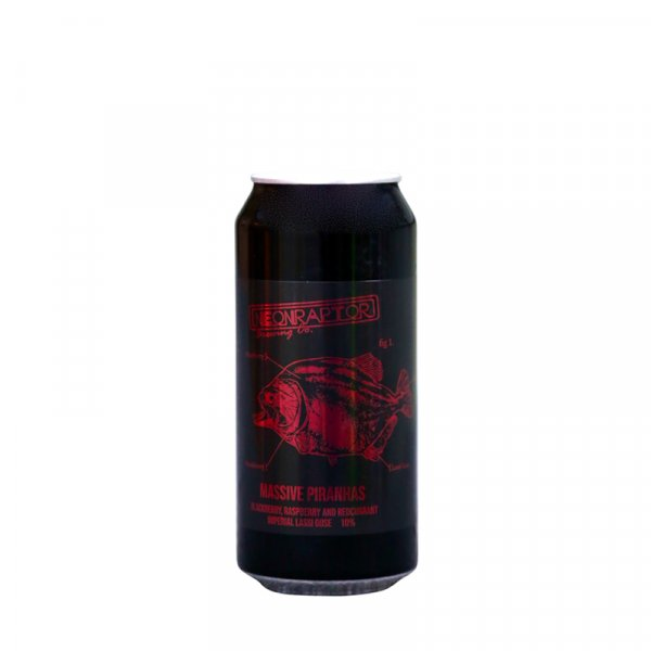 Neon Raptor – Massive PiranhasBlackberry, Raspberry & Red Currant Imperial Lassi Gose