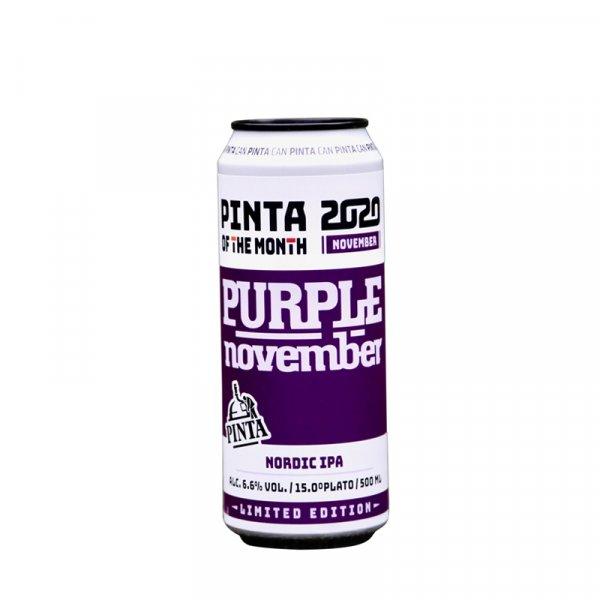 Pinta Brewery – Purple November IPA