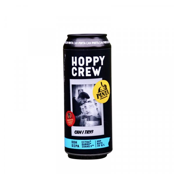 Pinta Brewery – Hoppy Crew: Can I Try? DDH Double IPA