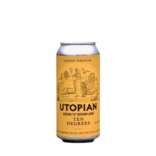 Utopian Brewing – Ten Degrees Czechia 10° Style Session Lager