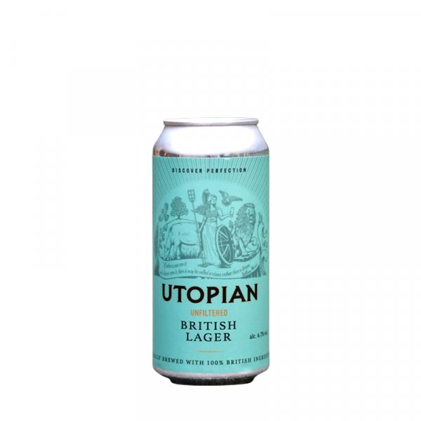Utopian Brewing – British Unfiltered Lager