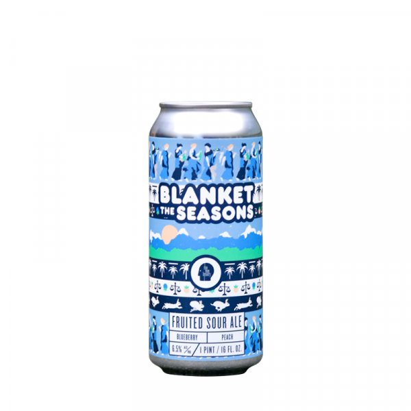 Thin Man Brewing – Blanket The Seasons Blueberry & Peach Sour Ale