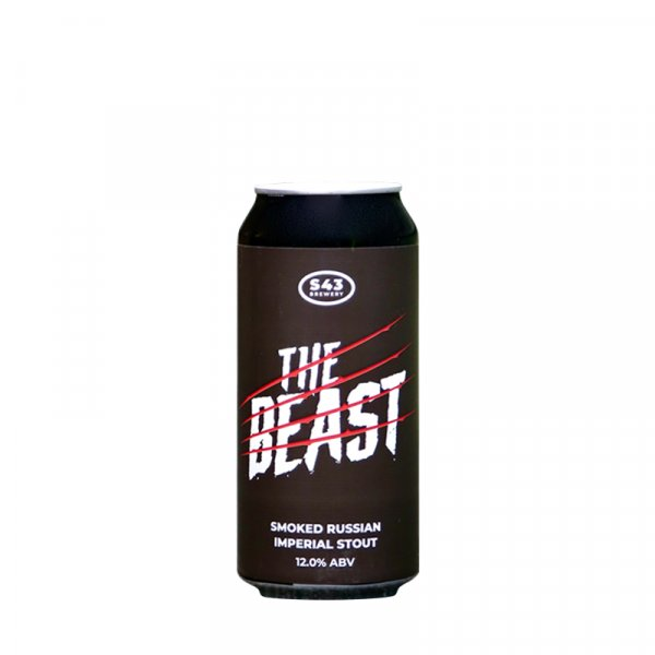 S43 Brewery – The Beast Smoked Russian Imperial Stout