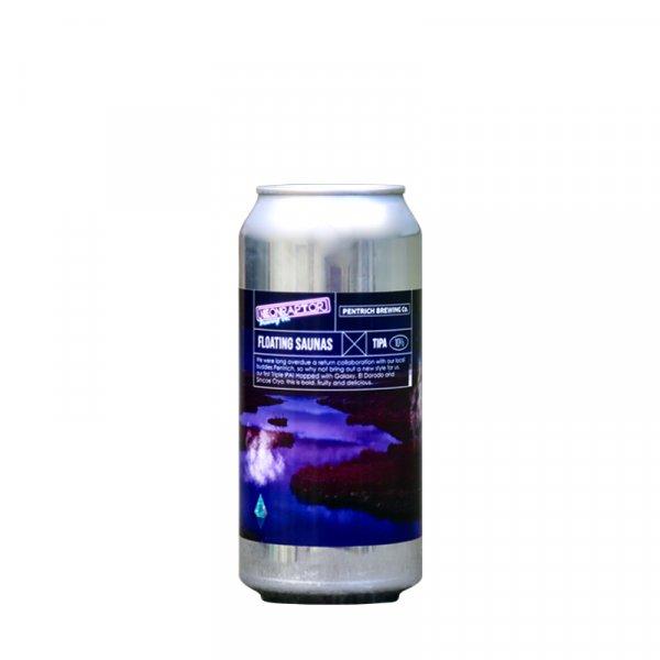 Neon Raptor Brewery / Pentrich Collab – Floating Saunas Triple IPA