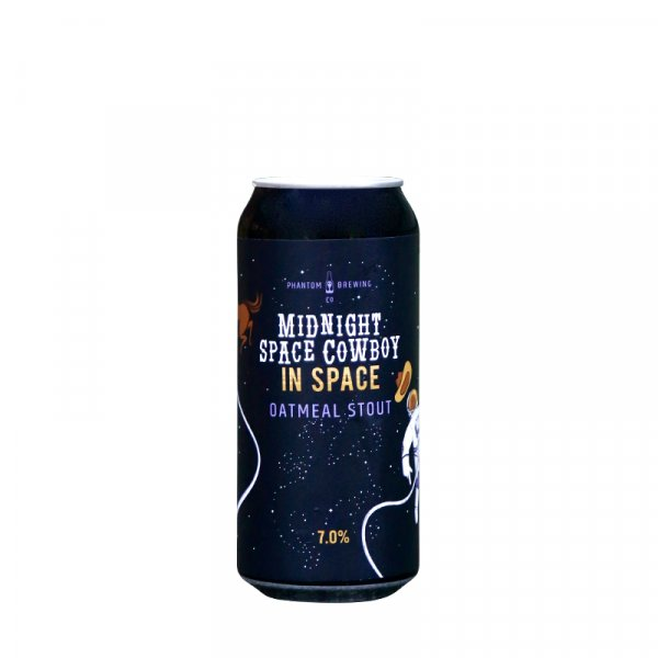 Phantom Brewing Co. – Midnight Space Cowboy…In Space Oatmeal Stout (image coming soon)