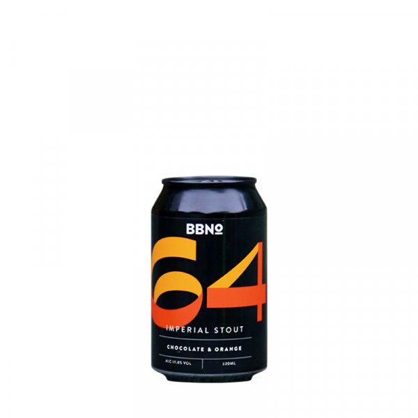 Brew by Numbers – 64 Chocolate & Orange Imperial Stout