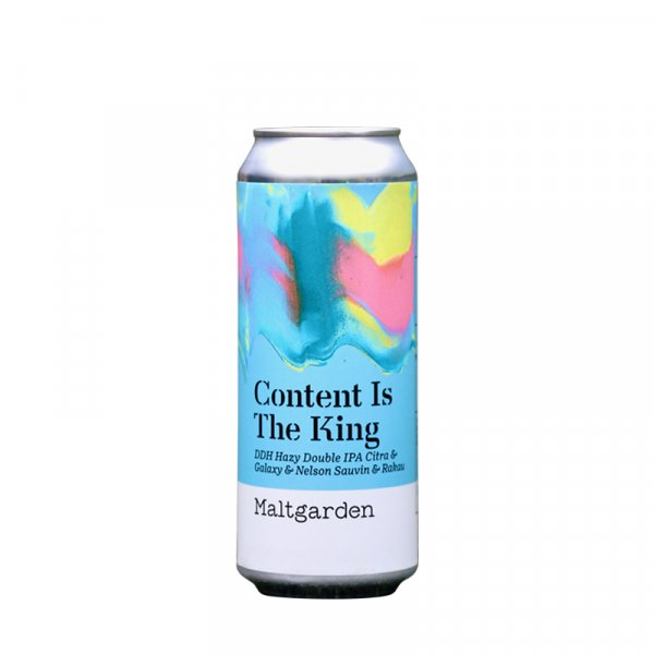 Maltgarden – Content Is The King Hazy DIPA