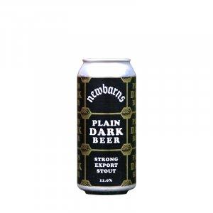 Newbarns Brewery – Plain Dark Beer Strong Export Stout