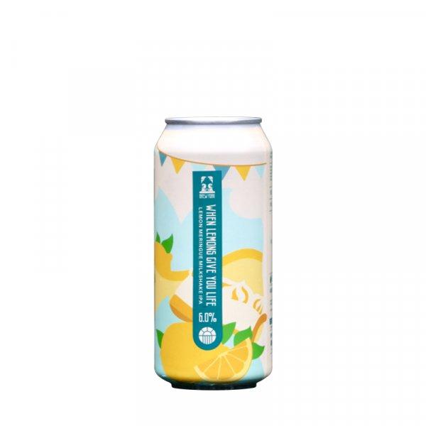 Brew York – When Lemons Give You Life Lemon Meringue Milkshake IPA