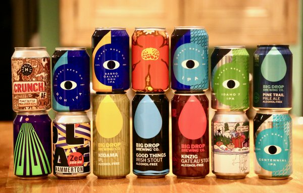 The Boozeless Beast Craft Beer Box – 14 Alcohol Free beers – £49:95 delivered!