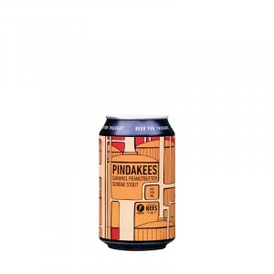 Kees Brewery / Frontaal – Pindakees Caramel Peanut Butter Sundae Stout