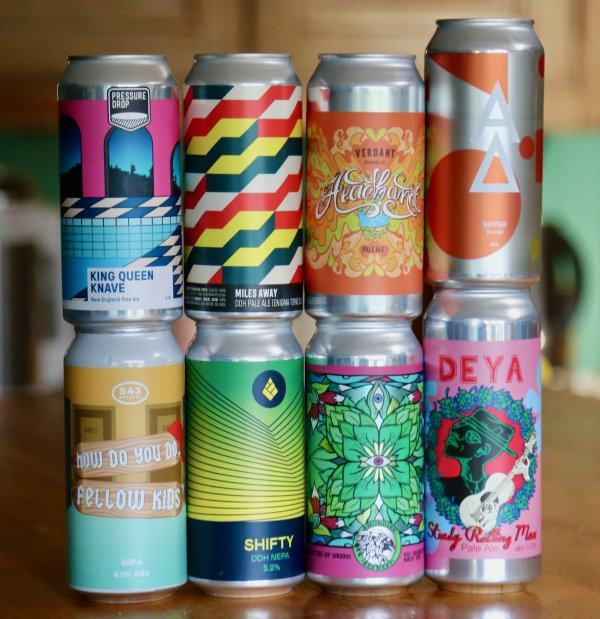 The Hoppy Beast Craft Beer Box –  8 hoppy beers – £39:95 delivered